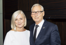 Rainbow Room International Founders Alan and Linda Stewart Awarded an OBE in the New Year's Honours List