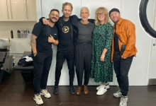 AKIN KONIZI FOUR TIME WINNER OF THE HJ BRITISH HAIRDRESSER OF THE YEAR TITLE SPENDS THE DAY WITH OUR 2021 F.A.M.E. TEAM!