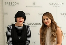 The current recipient of the Sassoon Scholarship, Kim Nicole Jones, has spent her first day on a Sassoon Academy course.