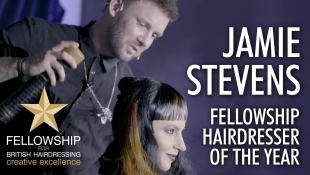 Jamie Stevens, Hairdresser of the Year 2018